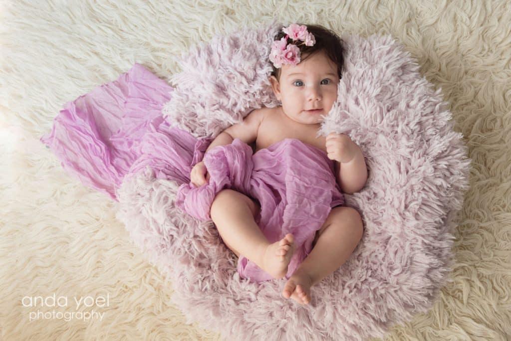 צילומי תינוקות בסטודיו - אנדה יואל