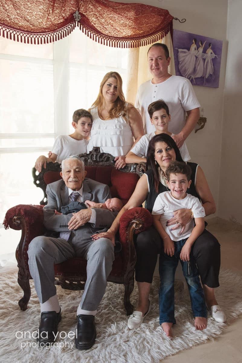 צילומי משפחה מורחבת צילומי דורות