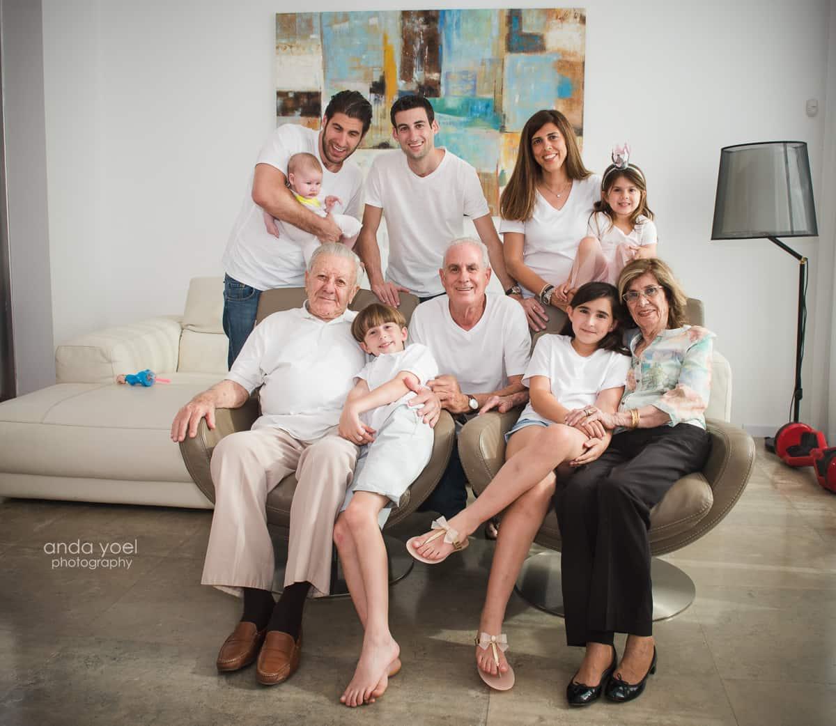 צילום משפחה מורחבת