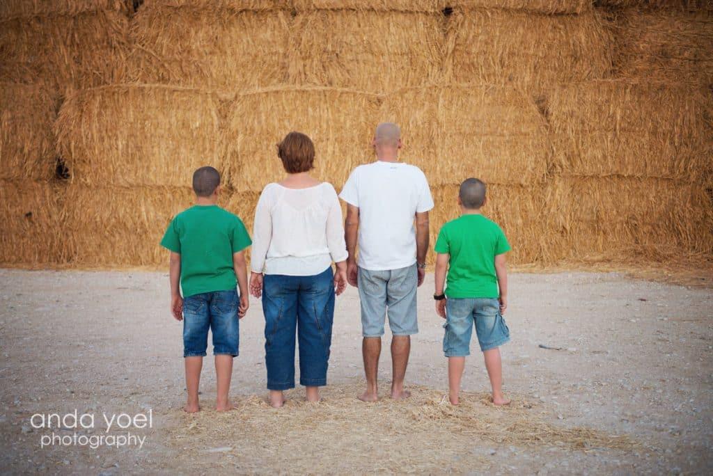 צילומי משפחה וילדים בקיבוץ