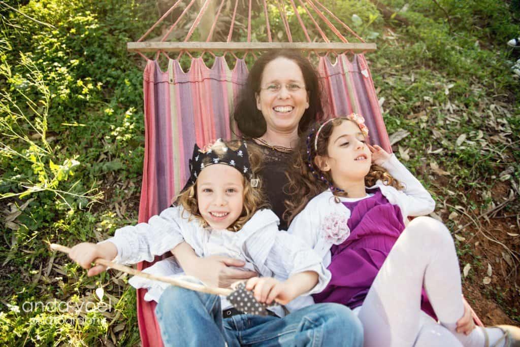 צילומי משפחה וילדים בטבע