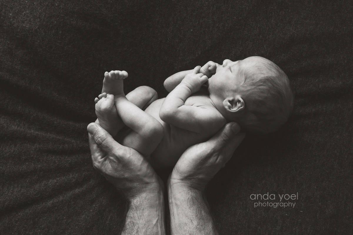 Newborn baby boy - Anda Yoel newborn photographer Tel Aviv, Israel