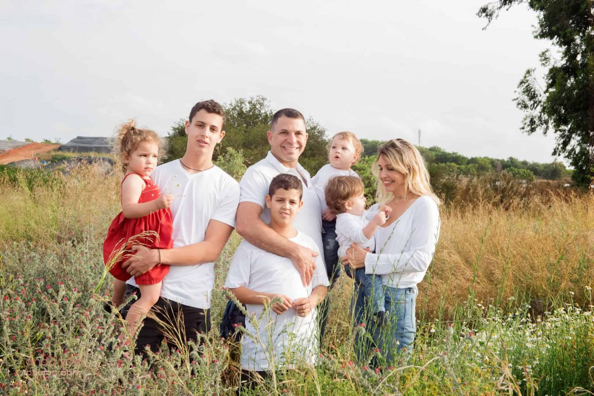 Family session in Israel (outdoors)- Anda Yoel