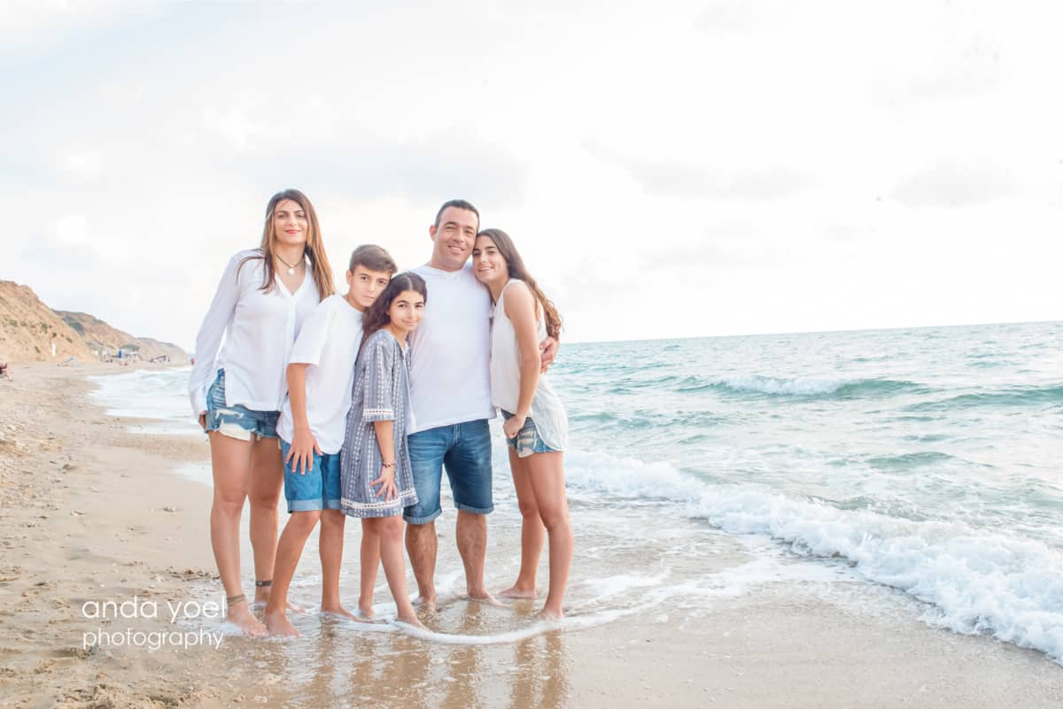 Family session in Israel (at beach)- Anda Yoel